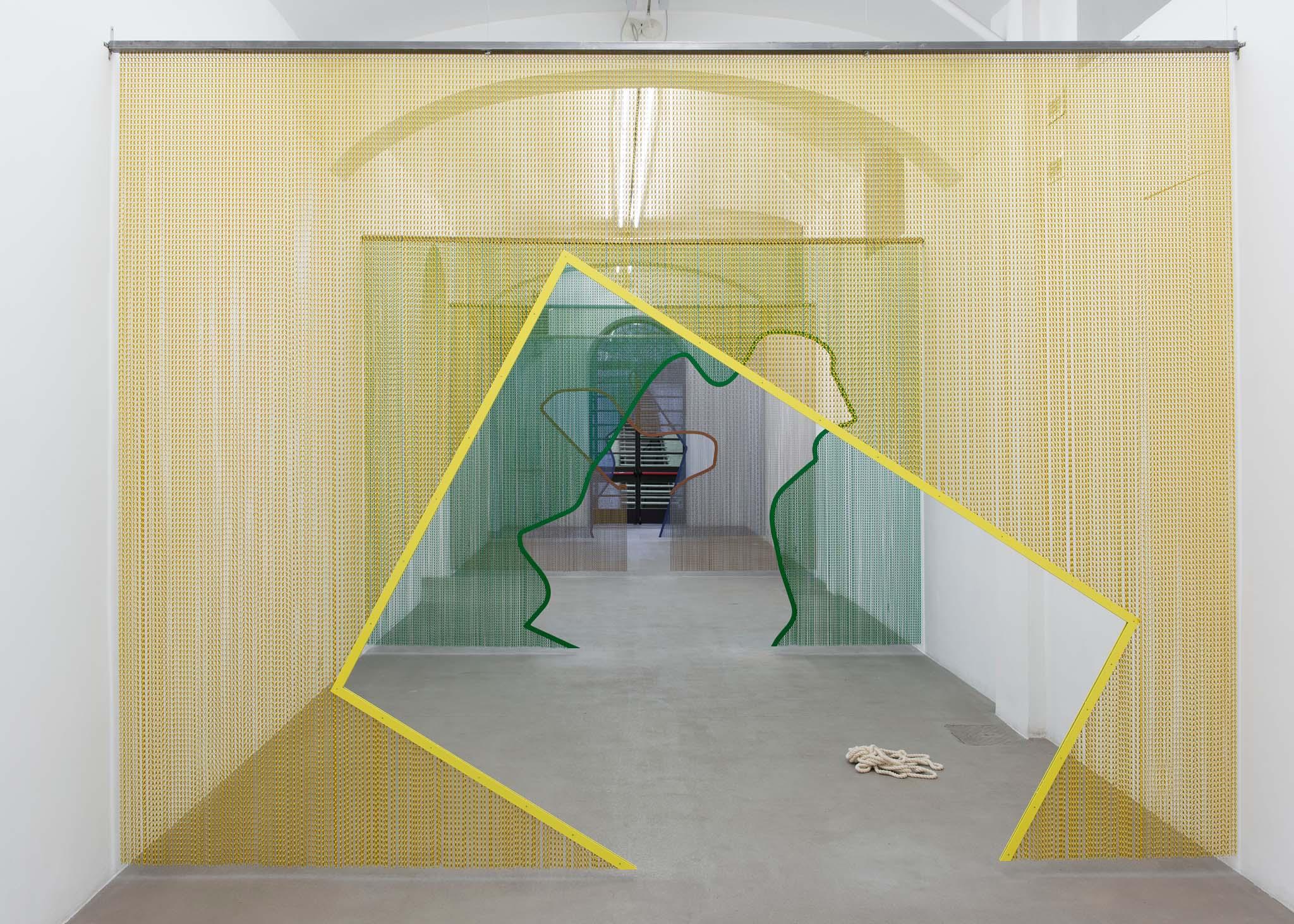 Beauty Codes (order/disorder/chaos) Installation view at Fondazione Giuliani, Rome, 2015,  photo Giorgio Benni