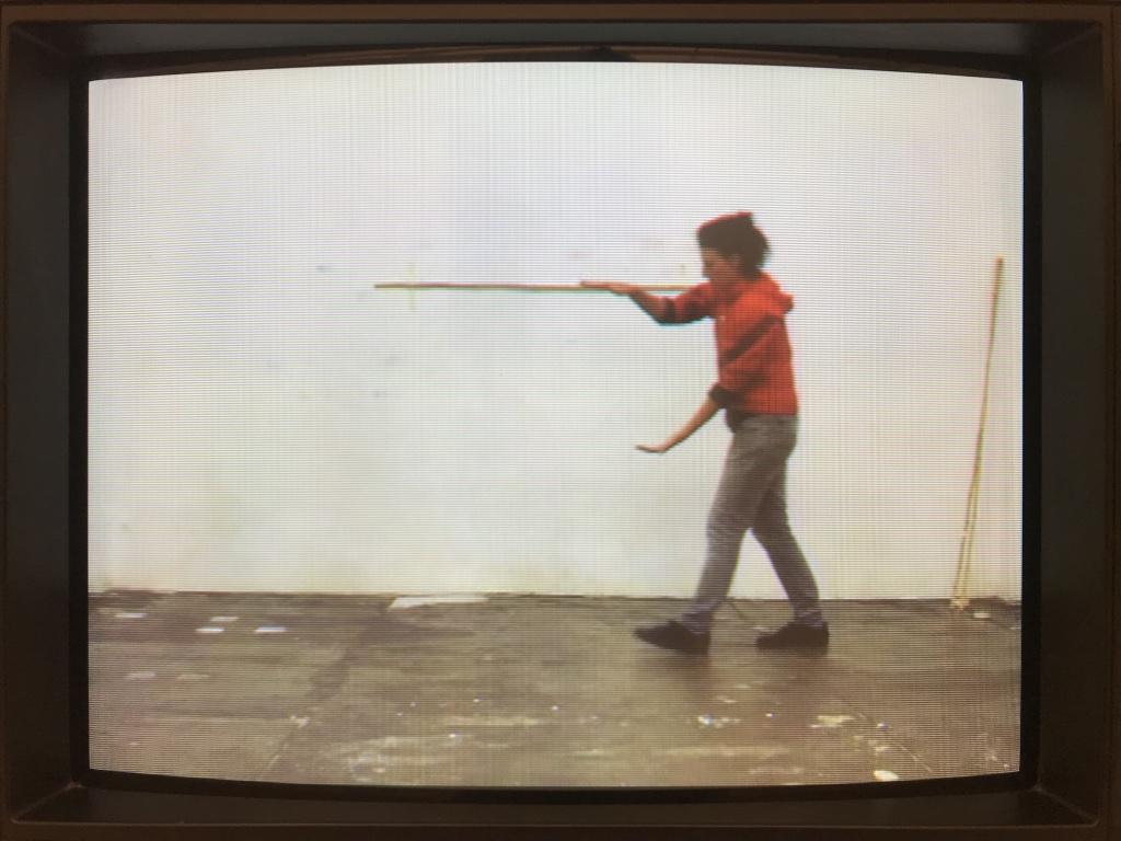 Esther Kläs Horizonte (rot), still, 2020, single channel video; Courtesy Xavier Hufkens, Brussels; photo  Giorgio Benni