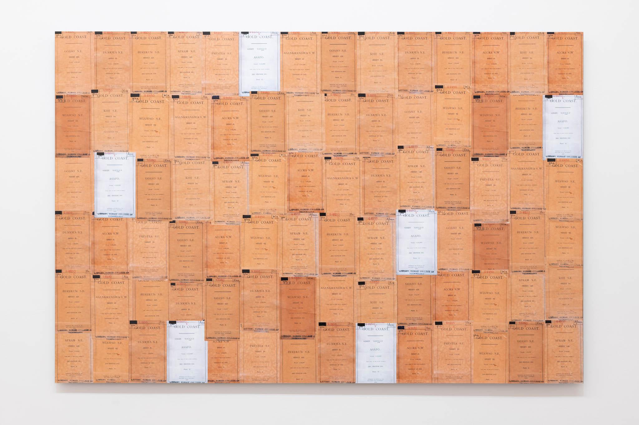 Ibrahim Mahama Gold Coast, 1945 – 2019; C-Print, 100 x 150 cm; foto Giorgio Benni