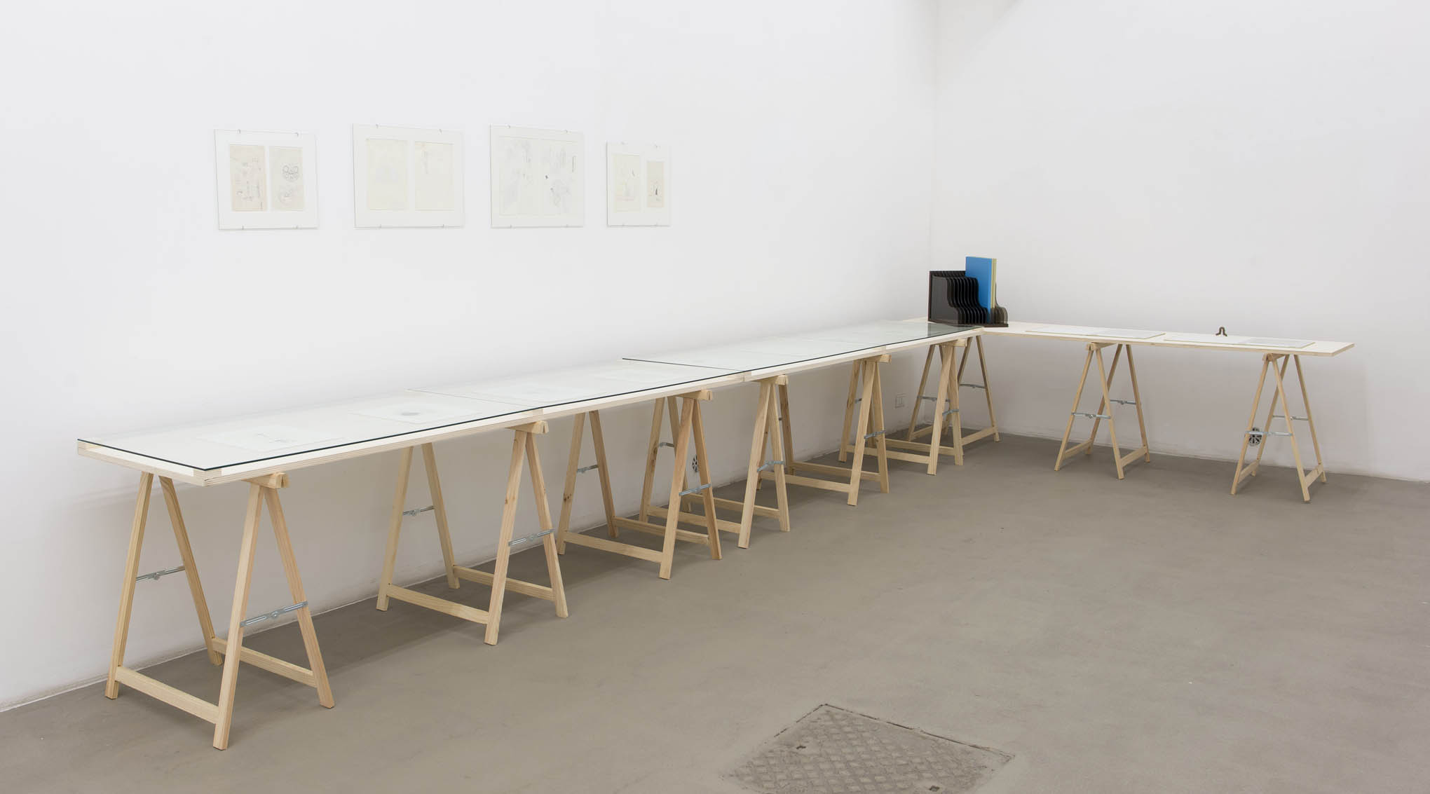 14. Consequences installation view at Fondazione Giuliani, Rome, 2015, photo Giorgio Benni