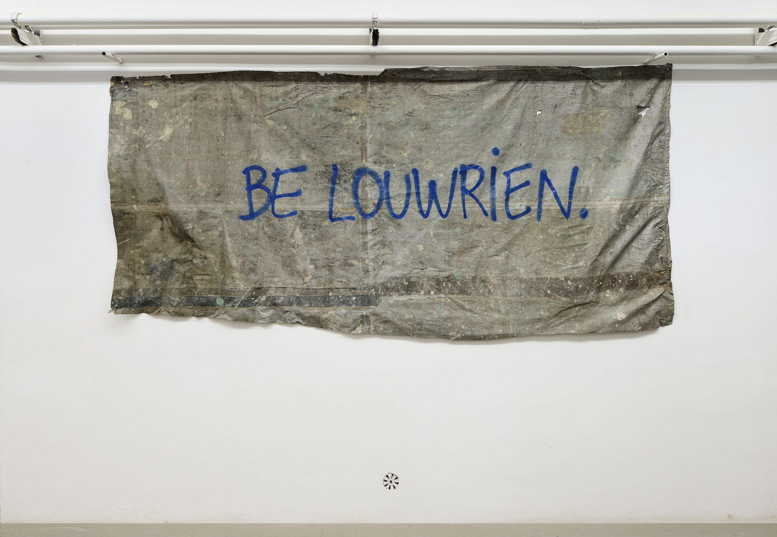 Louwrien Wijers Mental Sculpture; installation view presso Fondazione Giuliani, Roma, 2018 foto Roberto Apa