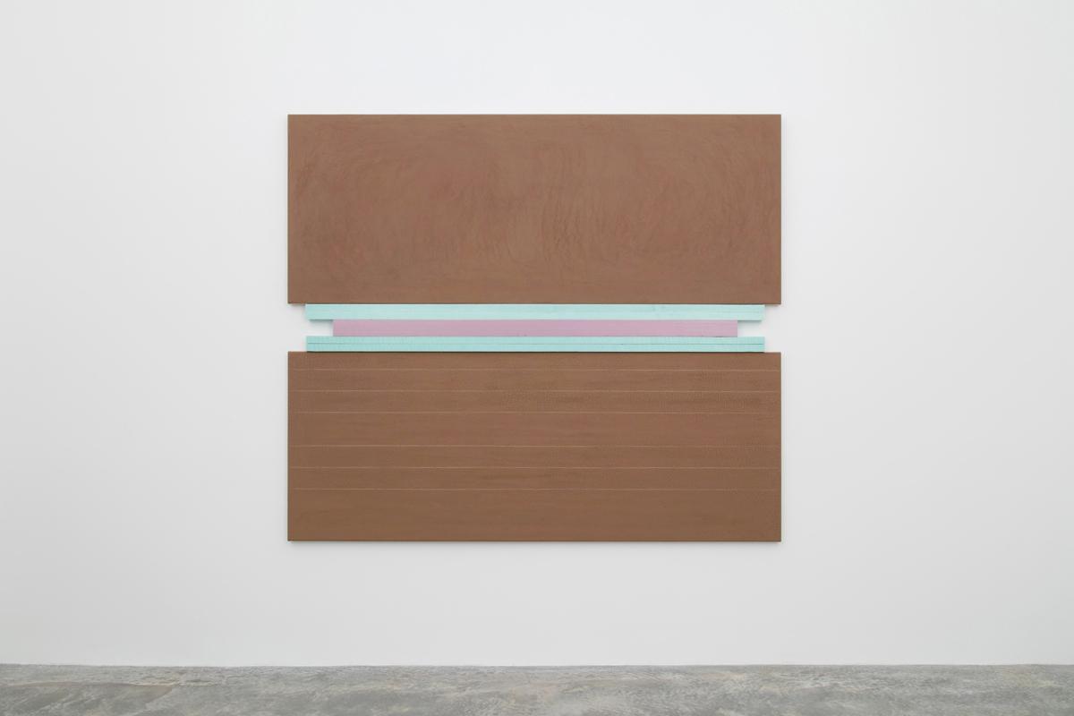 N. Dash Untitled, 2017; adobe, string, styrofoam,jute, wood support; photo Jean Vong; Courtesy the  artist, Casey Kaplan Gallery, New York, and Mehdi Chouakri, Berlin