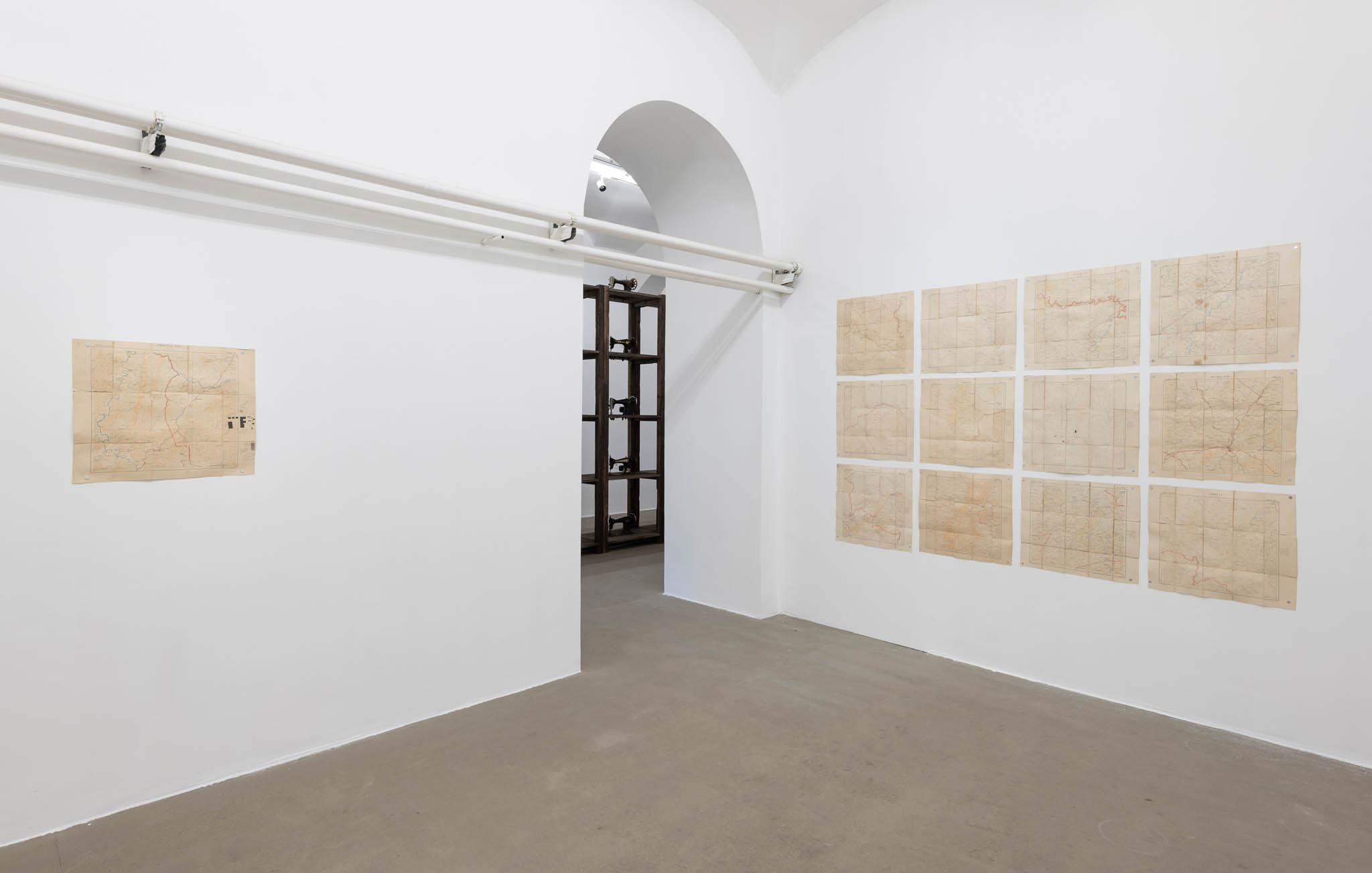 LIVING GRAINS Installation view; foto Giorgio Benni