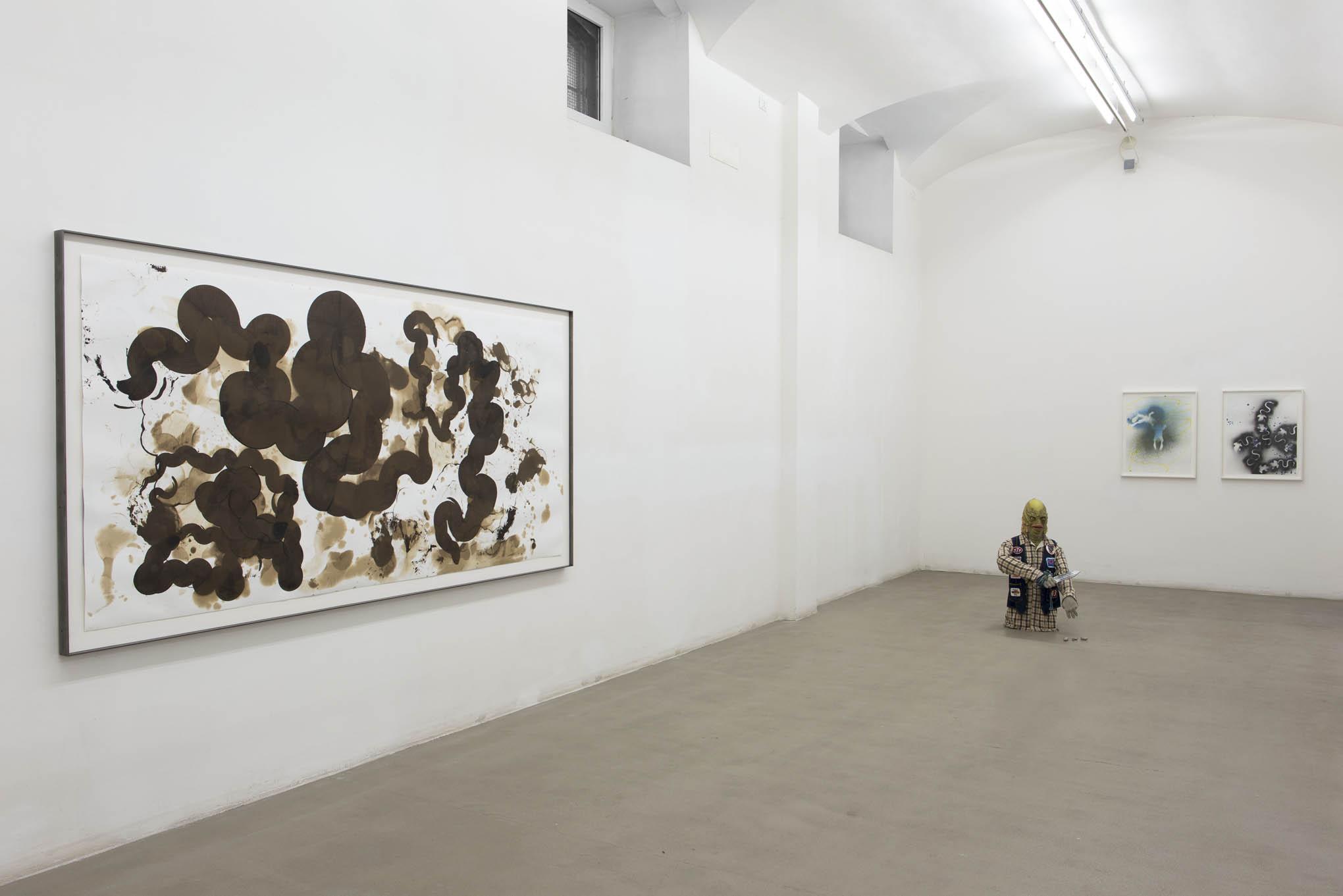 18. Consequences installation view at Fondazione Giuliani, Rome, 2015, photo Giorgio Benni
