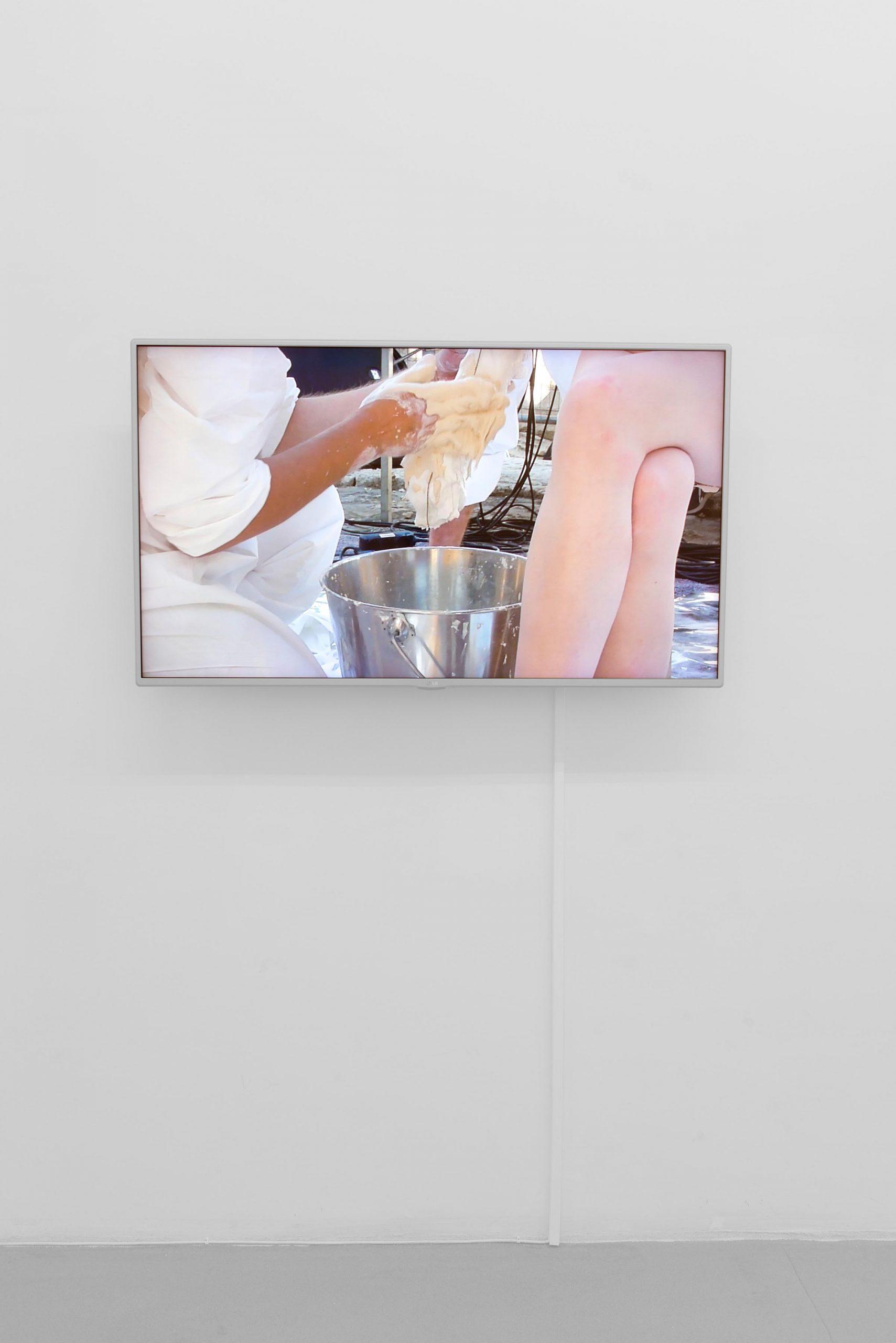 Lili Reynaud Dewar Why should our bodies end at the skin, 2012 Courtesy Galerie Emanuel Layr, Wien