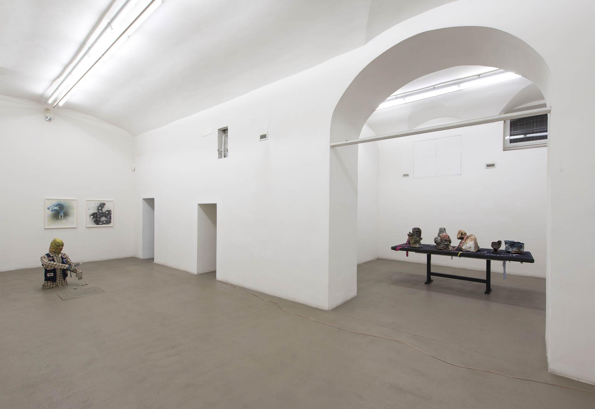 21. Consequences installation view at Fondazione Giuliani, Rome, 2015, photo Giorgio Benni