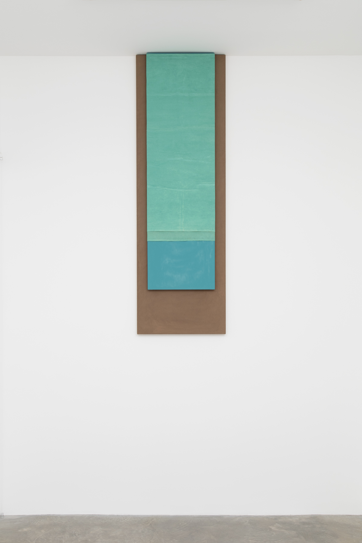 Dash Untitled, 2017; adobe, oil, pigment, acrylic, linen, jute, wood support; photo Jean Vong; Courtesy the artist, Casey Kaplan Gallery, New York, and Mehdi Chouakri, Berlin