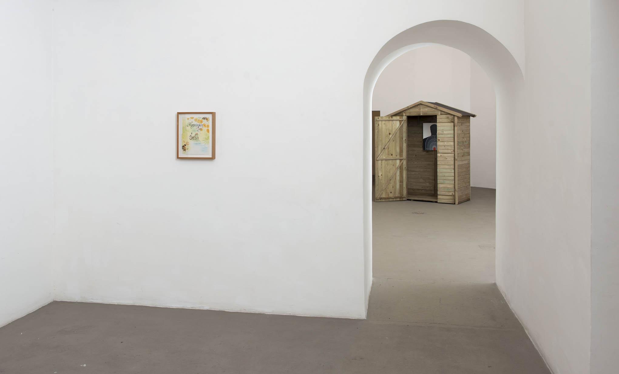 2. Consequences installation view at Fondazione Giuliani, Rome, 2015, photo Giorgio Benni