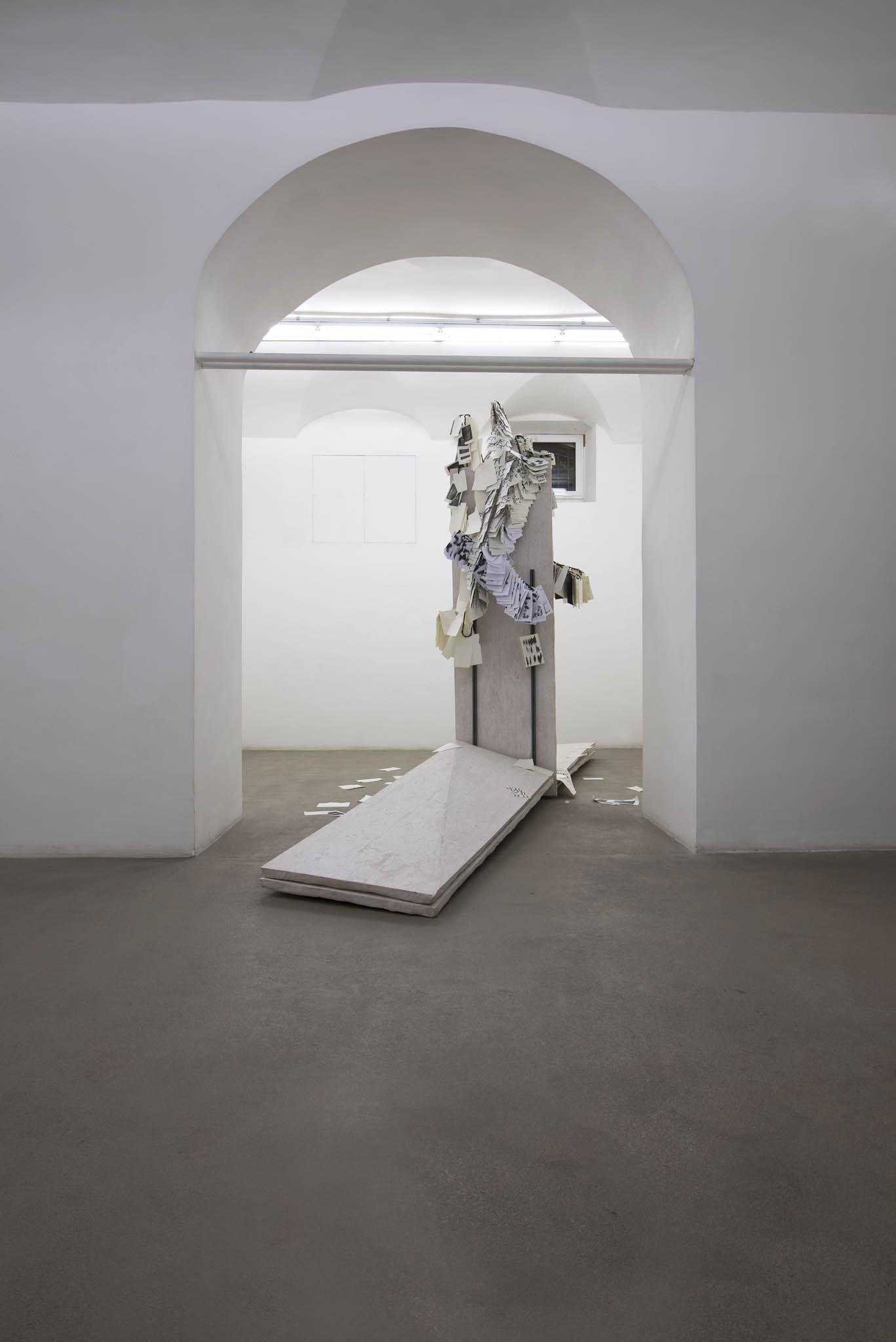 5.Stamen Papers Installation view, Roma, 2016, foto Giorgio Benni