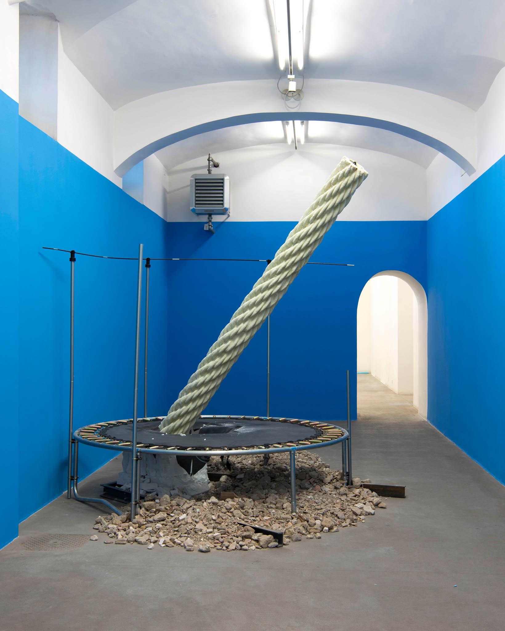 5. Your Ruins Are My Flag Installation view; foto Giorgio Benni