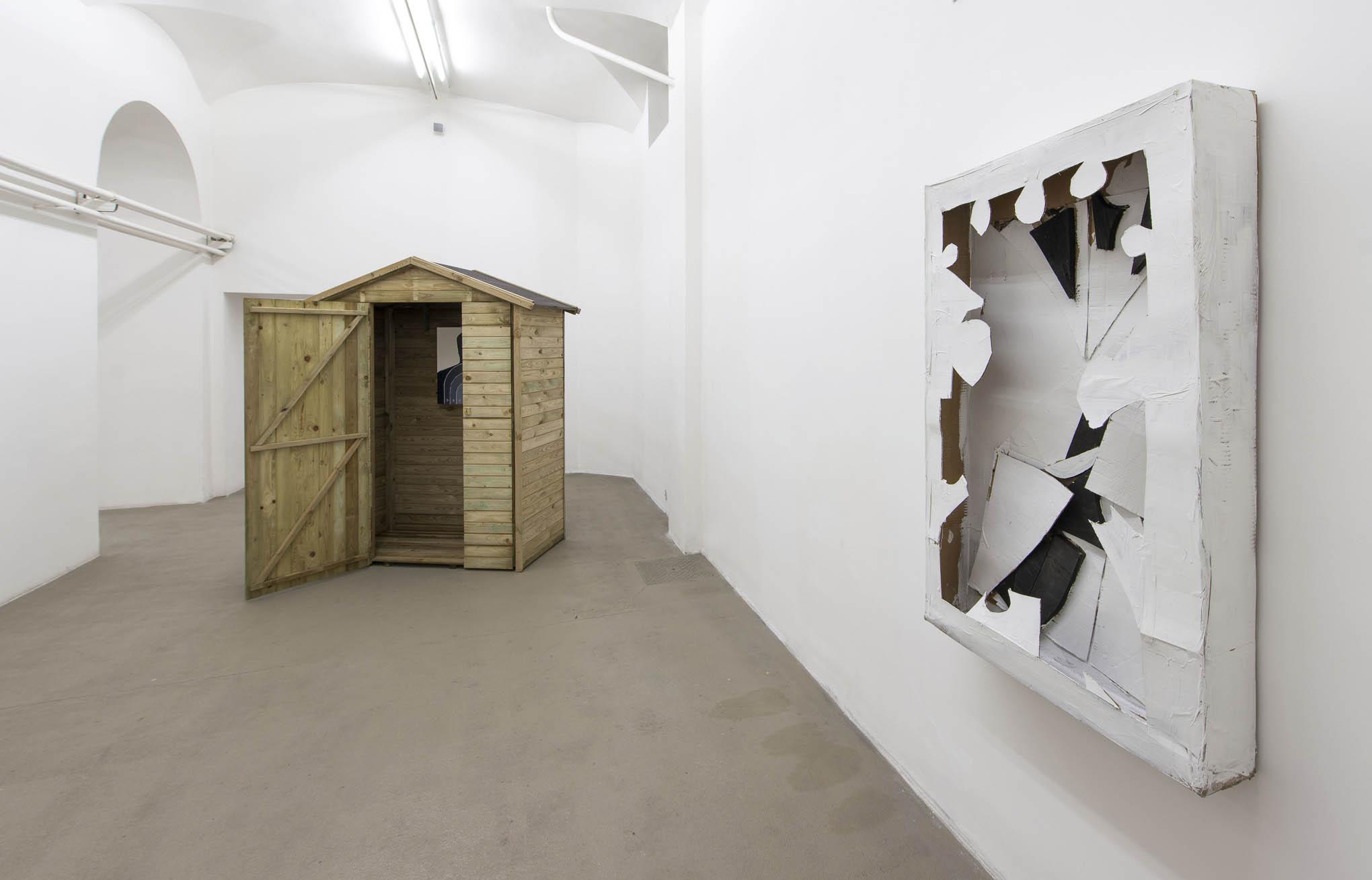 5. Consequences installation view at Fondazione Giuliani, Rome, 2015, photo Giorgio Benni
