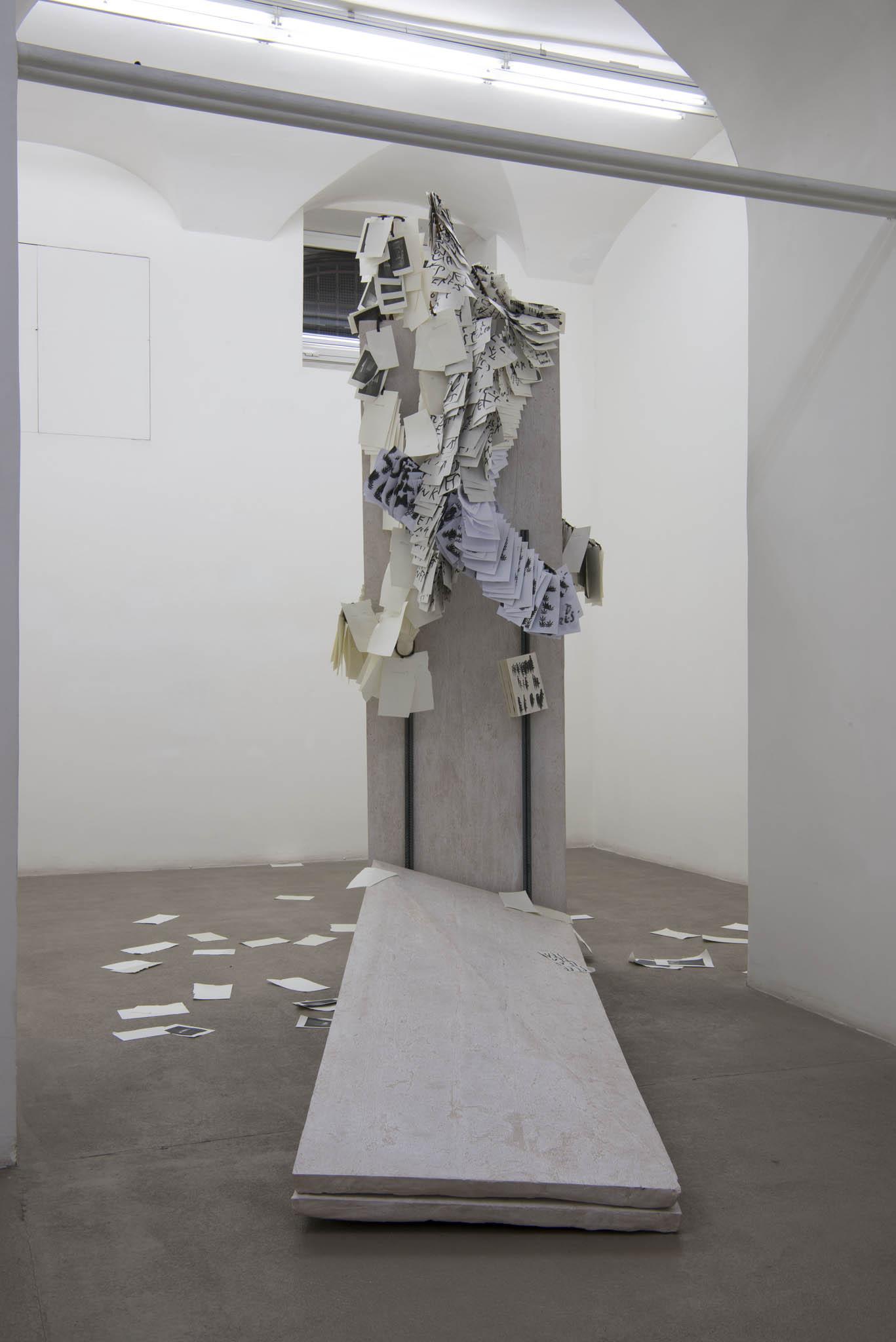6.Stamen Papers Installation view, Roma, 2016, foto Giorgio Benni