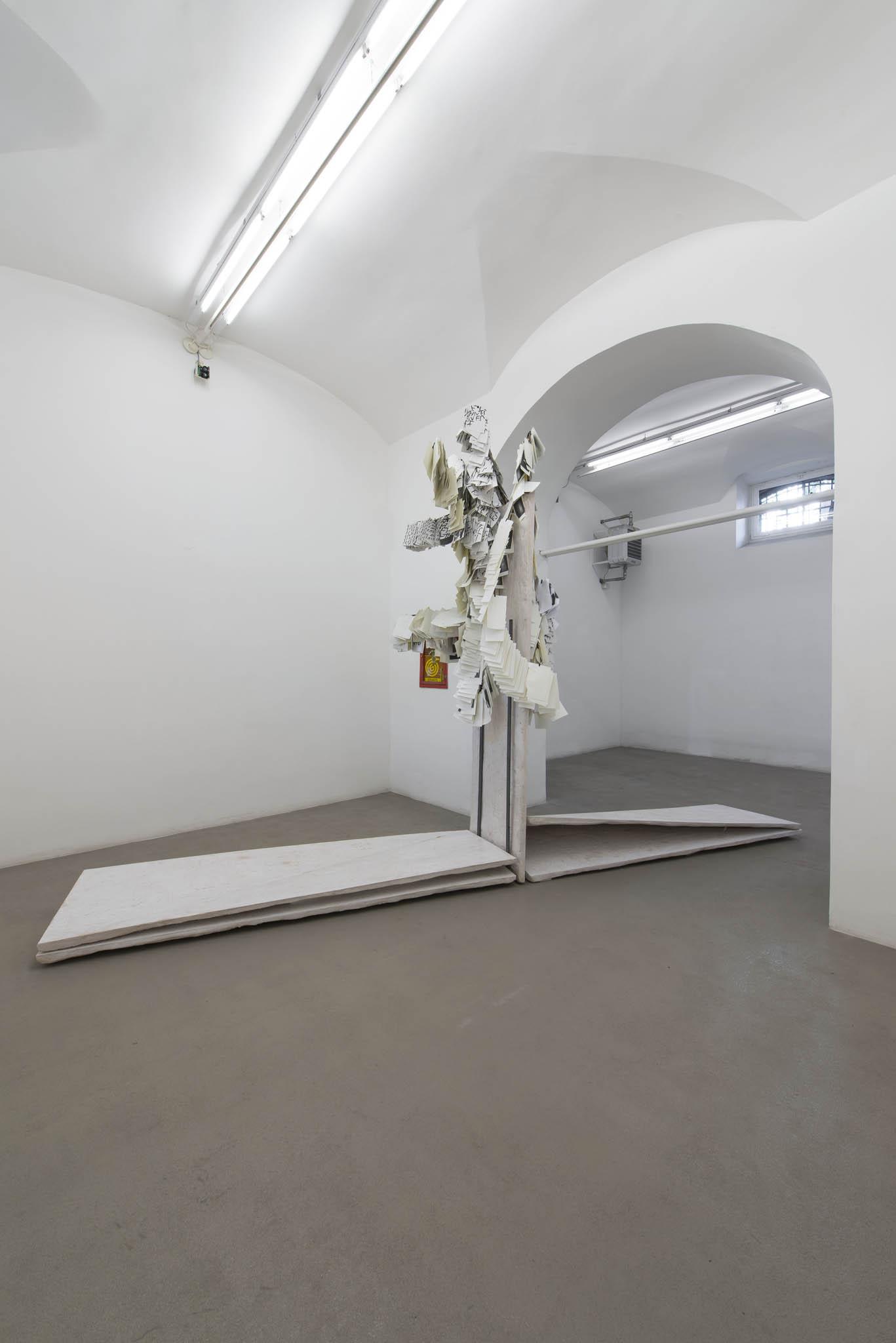 7.Stamen Papers Installation view, Roma, 2016, foto Giorgio Benni