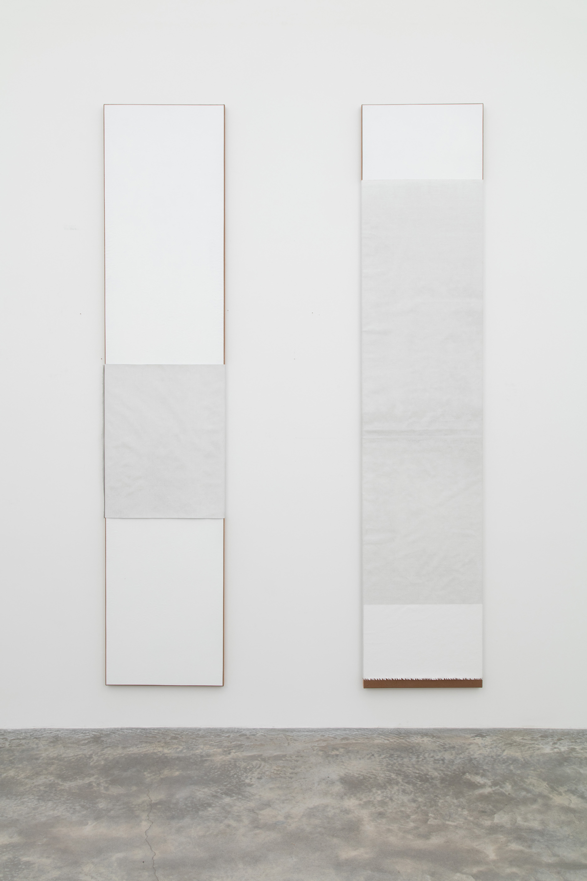 N. Dash Untitled, 2017; adobe, acrylic, pigment, gesso, linen, jute, wood support; photo Jean Vong; Courtesy the artist, Casey Kaplan Gallery, New York, and Mehdi Chouakri, Berlin