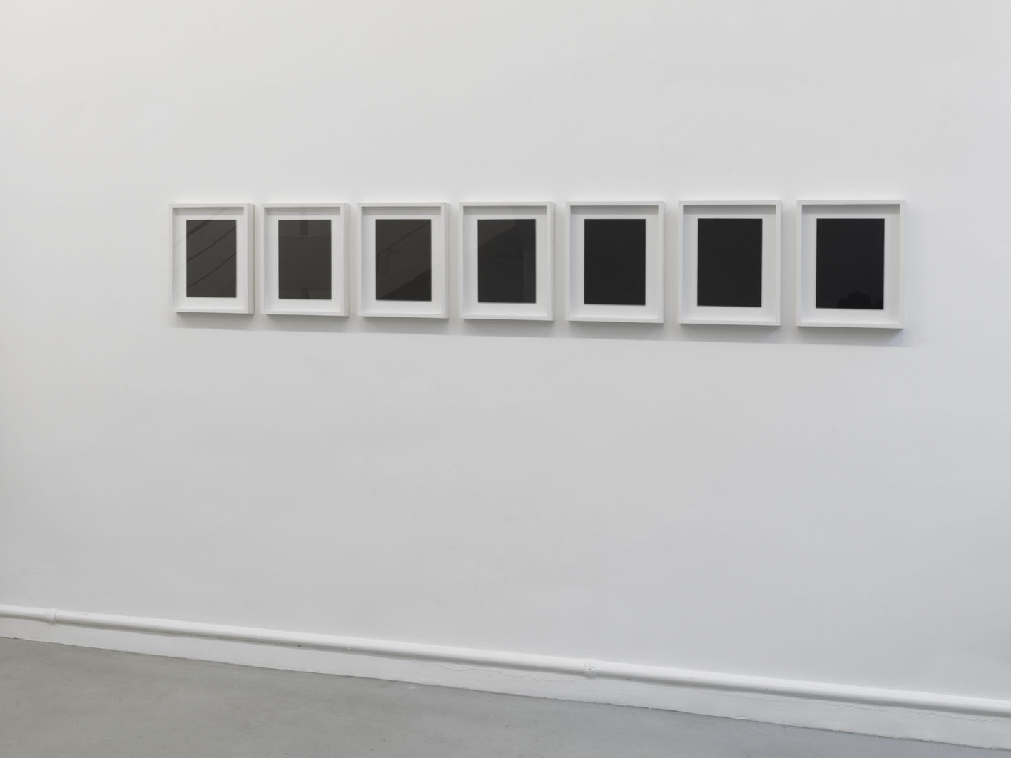 Stefan Brüggemann Seven Reversed Mirrors, 2010
