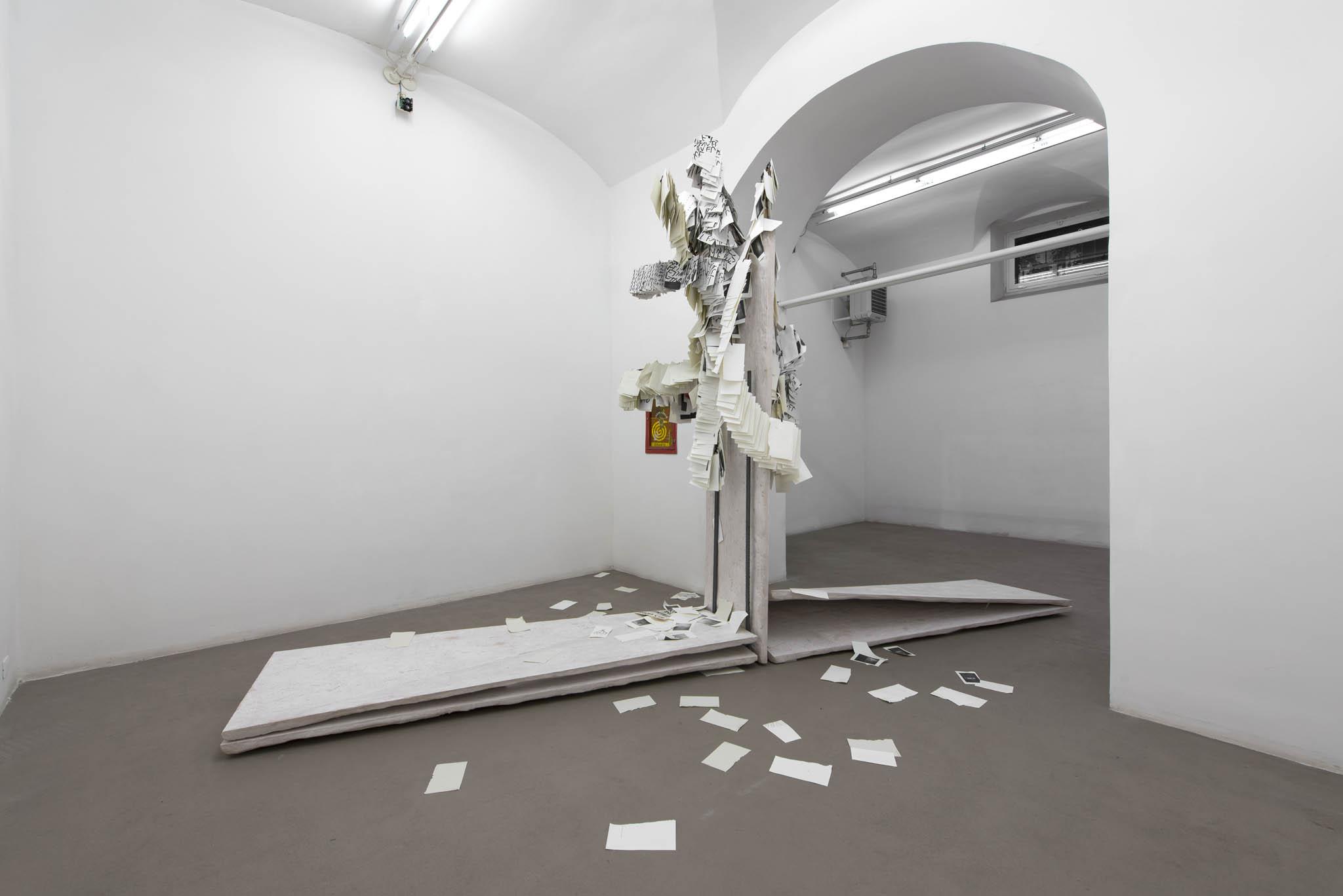 8.Stamen Papers Installation view, Roma, 2016, foto Giorgio Benni
