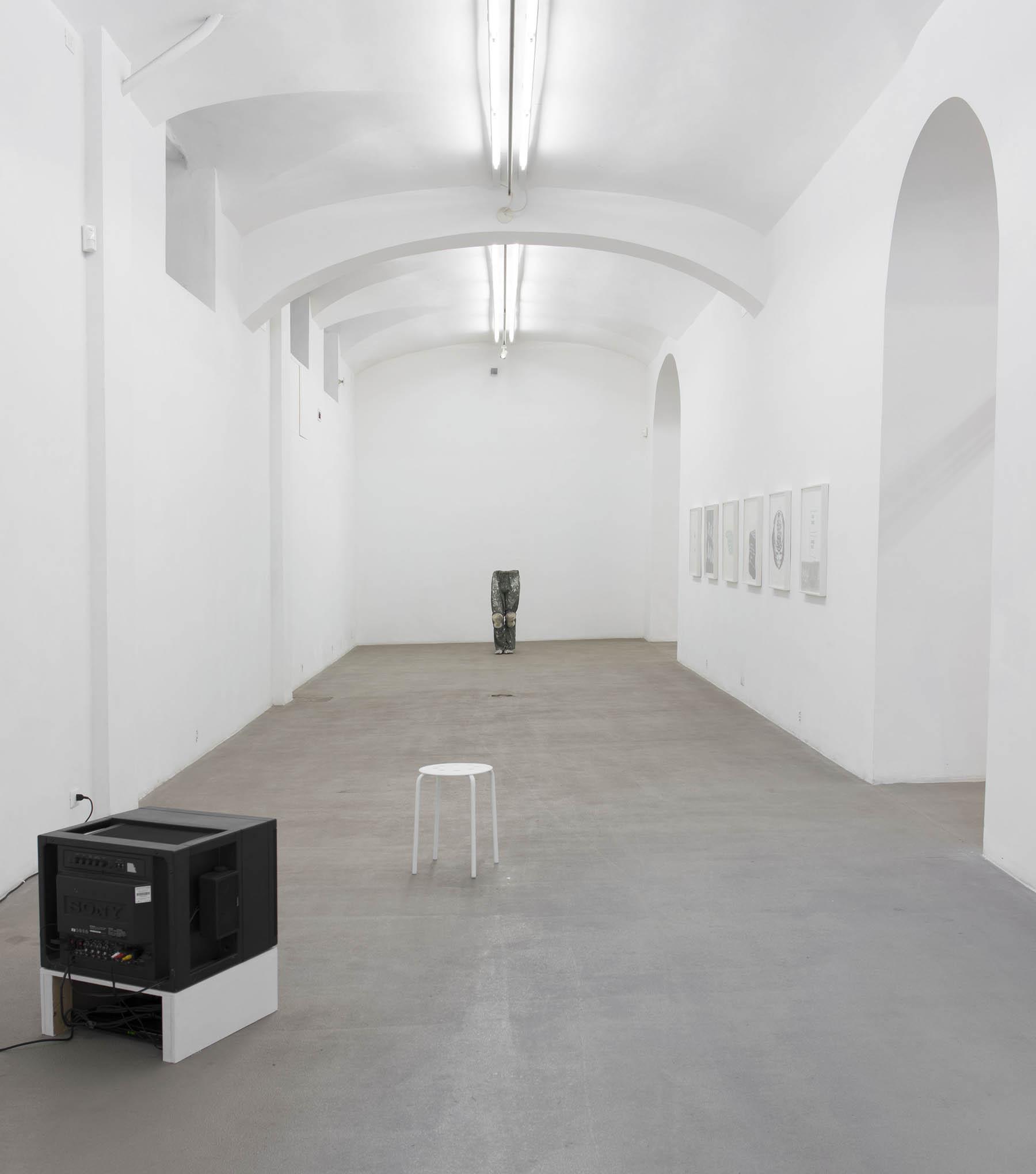 8. Consequences installation view at Fondazione Giuliani, Rome, 2015, photo Giorgio Benni