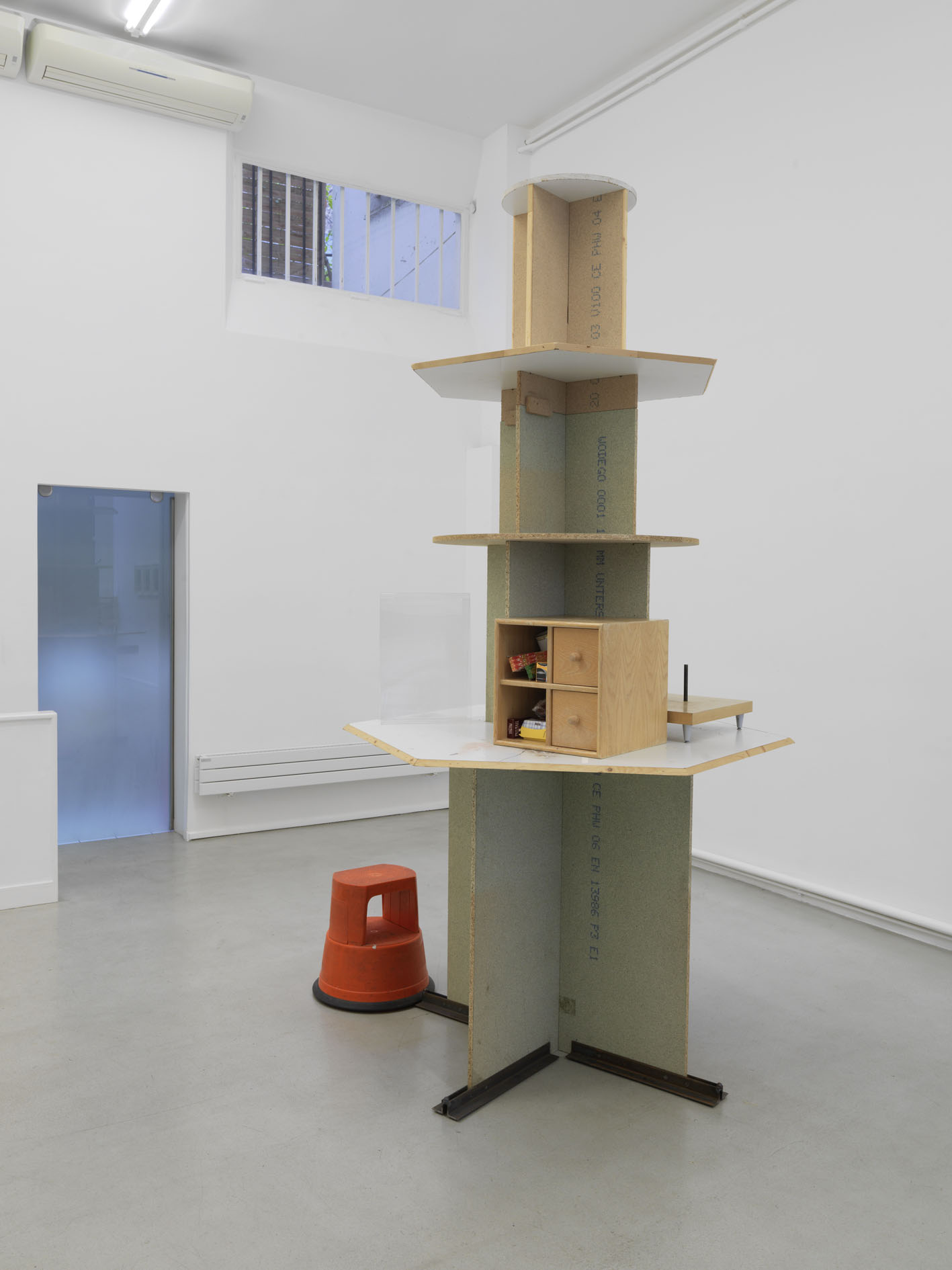 Manfred Pernice Untitled (AVA), 2008